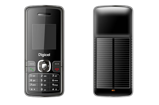 zte mobile phone, digicel mobile phone, solar powered phone, cheap solar phone, mobile phone, solar power, green phone