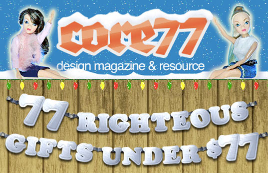 holiday gift guide, core 77, 77 Righteous Gifts Under $77, products, industrial design