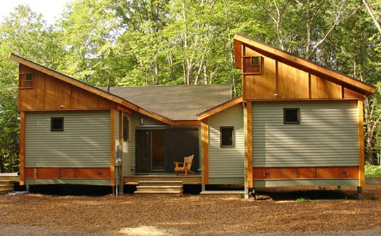 cottage in a day, cottage-in-a-day, michael fitzhugh, prefab, energy-efficient homes, structural insulated panels, SIP house, SIP home, SIP cottage, affordable housing, affordable homes