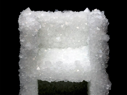 Japanese design, natural beauty, Tokyo design, second nature, Tokujin Yoshioka, crystal art, crystal chair, green design, sustainable design