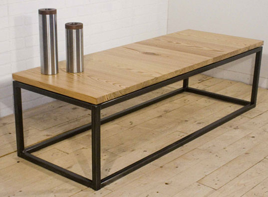 Uhuru, Cutoffs Table, scrap wood table, BKLYN Designs, HauteGreen, green furniture, sustainable furniture, brooklyn designers 2