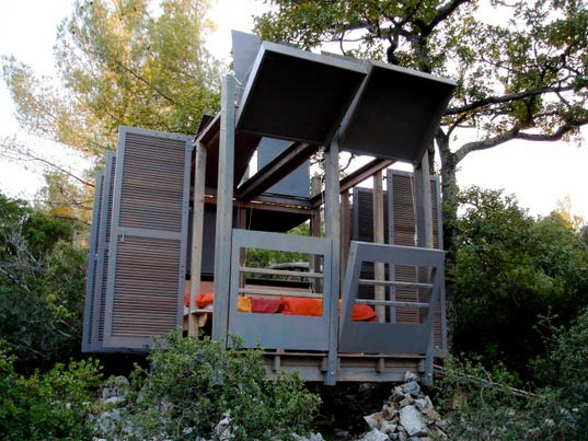 sustainable design, green design, architecture, building, prefab architecture, garden sheds, dansmonarbre