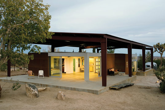 Inhabitat » California Desert Home Uses Passive Ventilation Techniques :  ecodesign green design sustainable design
