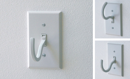 Die Electric, Off Light Switch Hanger, Light Switch hanger, Designer Scott Amron, Design for zero-energy consumption