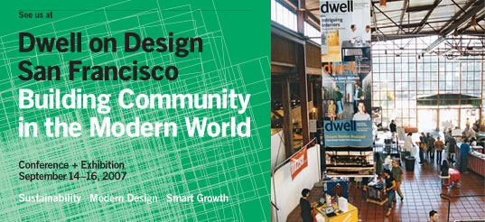 Dwell on Design, Dwell, Architecture Conferences