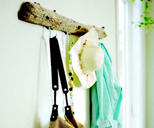inhabitat green gift guide, sustainable diy gifts, green homemade gifts, holiday gift giving, crafted gifts, handmade gifts, presents, driftwood rack