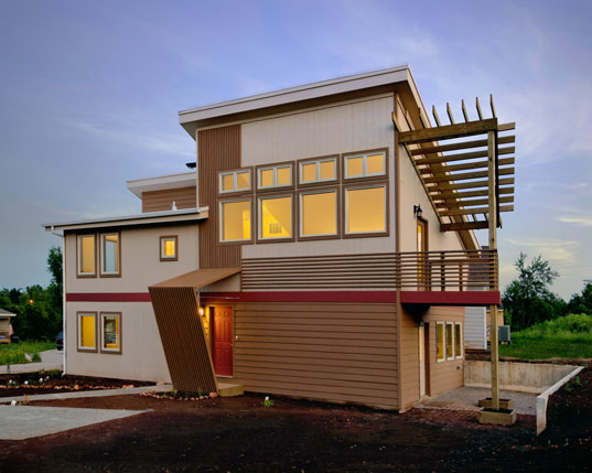 Drury University Sustainable Habitat House, LEED Platinum Residence, LEED Platinum House, Sustainable Building, Sustainable Homes, Green Homes