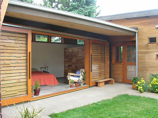 Dwell AIA How Green Are You contest, Dwell magazine contest, AIA architecture contest, How Green Are You? contest, green building, sustainable design, architecture competition, DRW Design Build, DRW Design Build Recycled Aesthetic, TK Pad Residence Tom Ward, Gulf Islands House Measured Architecture, Salvaged Cedar Ryan Mankoski, Ninebark Studio Chad Schneider ArchiLab Design, dwellaia1.jpg