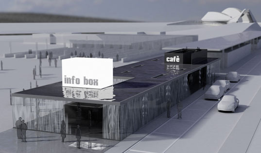 MIT, Digital Water Pavilion, Carlorattiassociati, Expo Zaragoza 2008, recycled water, digital buildings