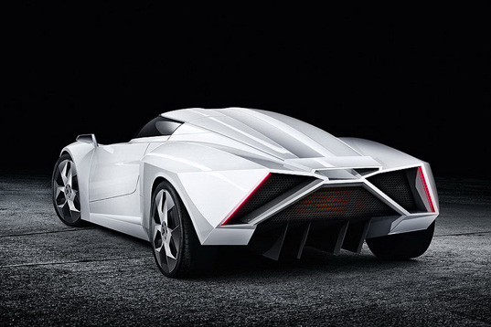 sustainable design, green design, e2, e-wolf, transportation, transportation tuesday, green car, supercar
