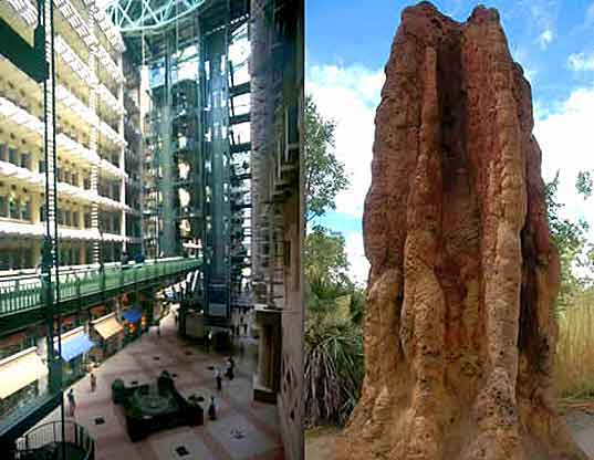 Eastgate Centre, Biomimetic Architecture, Biomimicry, Biomimetic Design, Biomimicry of Termite Mounds, Green Building With Termites, Eco Building, Sustainable Design, Harare, Zimbabwe, Africa, sustainable architecture, biomimicry, termite mound, construction, natural cooling, natural ventilation