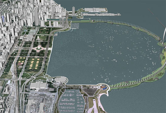 Chicago Eco-Bridge, Chicago sustainable initiatives, Chicago green initiatives, Burnham Plan of Chicago, green building Chicago, eco-friendly building Chicago, Proposed Eco-Bridge, ecobridgerendering-2_1.jpg