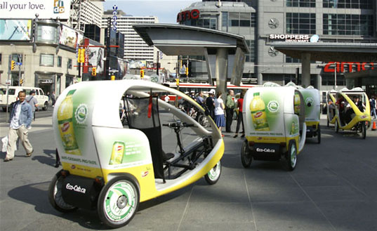 EcoCabs, Toronto EcoCabs, green taxis, green vehicles, bicycle taxis, alternative taxi, green transportation, ecocab_2.jpg