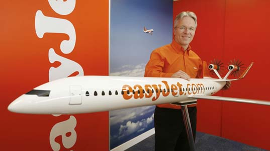 easyjet ecojet, sustainable, fuel, efficiency, reduced emissions, air travel, airplane, jet, short-haul flights