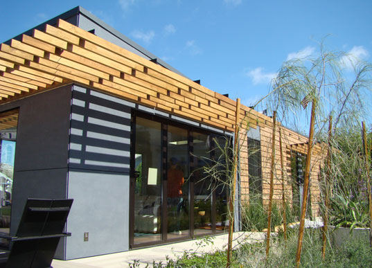 sustainable design, michelle kaufmann, green building, green architecture, prefabricated housing, modular prefab housing