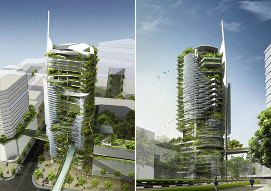 singapore s ecological editt tower inhabitat green design innovation architecture green. Black Bedroom Furniture Sets. Home Design Ideas