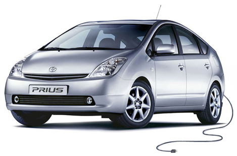 toyota prius, hybrid electricity, power source