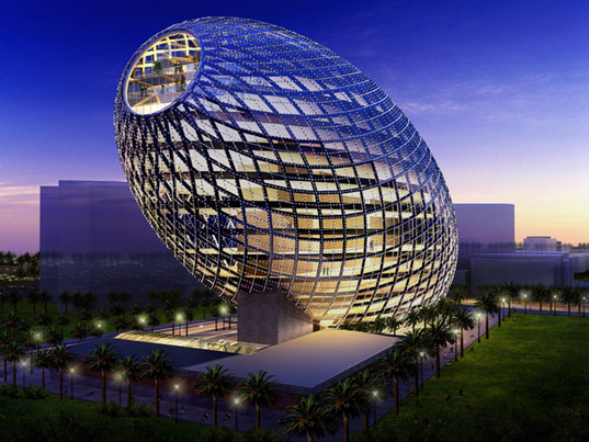 James Law Architecture, James Law Cybertecture, high-tech architecture, intelligent buildings, interactive technology, sustainable design, Mumbai, India, Cybertecture Mumbai, James Law Mumbai, Vijay Associates Mumbai, egg7.jpg