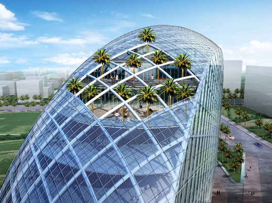 James Law Architecture, James Law Cybertecture, high-tech architecture, intelligent buildings, interactive technology, sustainable design, Mumbai, India, Cybertecture Mumbai, James Law Mumbai, Vijay Associates Mumbai, egg3.jpg