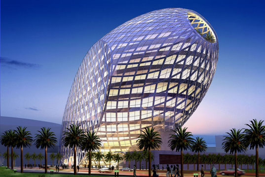 james law 39 s high tech 39 cybertecture egg 39 for mumbai