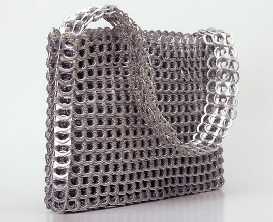 ESCAMA HANDBAGS: Made from Recycled Aluminum Pulltabs, Escama Purse, Recycled Aluminum Pulltab Handbags, Recycled Design, Reclaimed Design, Reclaiming Design, Eco-friendly, fair-trade, sustainable style, Socorro Purse, Brazilian women's coopts
