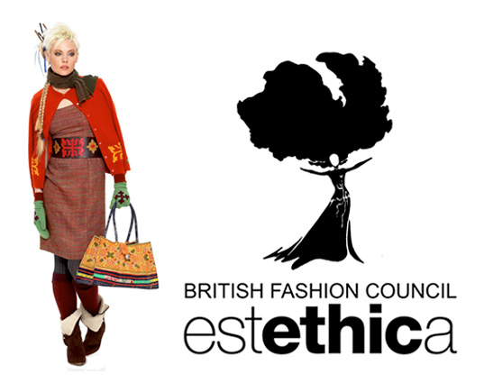 London Fashion Week, London Fashion Week Estethica, Estethica Spring Summer 2009, ethical fashion London Fashion Week, ethical fair trade fashion, Esthetica exhibition, Esthetica fashion event, British Fashion Council, Eco Fashion London Fashion Week, sustainable style London Fashion Week, faire trade, socially responsible fashion, eco fashion designers