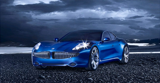 Fisker Karma hybrid electric sports car, via Inhabitat.com