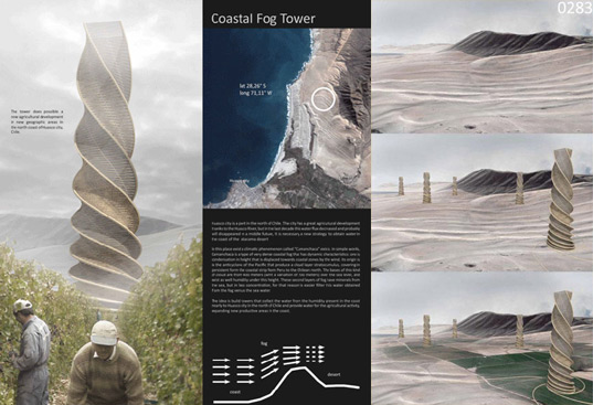 Alberto Fernández, Chilean development, Coastal Fog Tower, mist farming, Susana Ortega, sustainable agriculture, sustainable architecture, sustainable development, sustainable water source, fogtower5.jpg