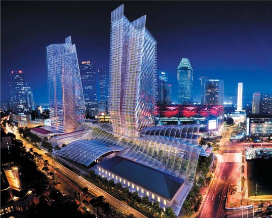 New Green Complex for Singapore 1