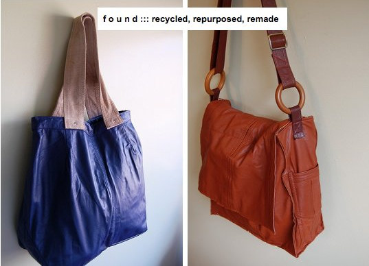 recycled, leather purses, upcycled, bridesmaid gift