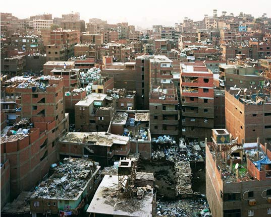 sustainable design, green design, eco art, environmental art, photography, cairo, egypt, garbage city, waste management