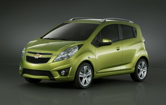 vehicles on display that we decided to feature the most eye catching vehicles at the show Still think that green cars have yet to catch up to their carbon spewing counterparts Think again Chevrolet Spark One of the more practical vehicles on display the