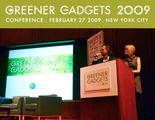 greener gadgets 2009, sustainable d