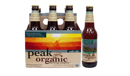peak organic brewing company, peak organic, organic beer, environmentally friendly beer, eco beer, organic brewing company, eco brewing company