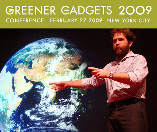 greener gadgets 2009, saul griffith, clean technology, green energy, green tech, greener consumer electronics, energy consumption