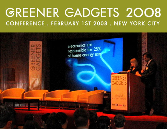 GREENER GADGETS Conference, Green Gadgets Conference, Sustainable Consumer Electronics, Green consumer electronics, greening the consumer electronics industry, NYC, Inhabitat, Jill Fehrenbacher, Marc Alt, Crowds at the GGC, Crowds at Greener Gadgets Conference