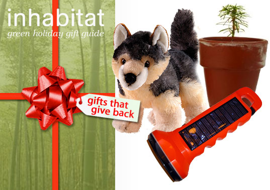 INHABITAT GREEN HOLIDAY GUIDE, Bogo light, Plant trees, Inhabitat Green Holiday Gift Guide, Gifts that give back, green holiday gifts, green holiday donations, green holiday charity support
