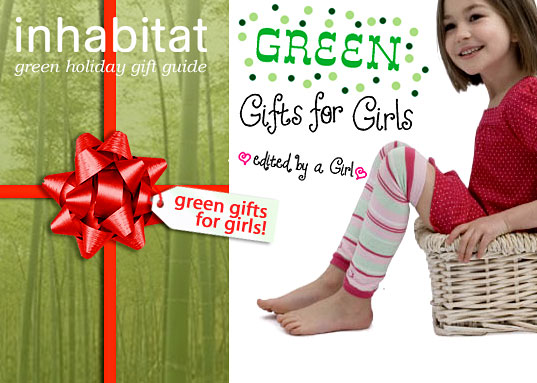 inhabitat green gift guide, sustainable design, xmas gift guide, christmas present guide, green gifts for girls