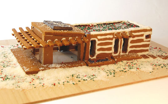 holiday gingerbread house, gingerbread house poll, modern gingerbread house, holiday cooking, green gingerbread house, sustainable gingerbread house, eco-friendly building, green holiday fun, mklotus