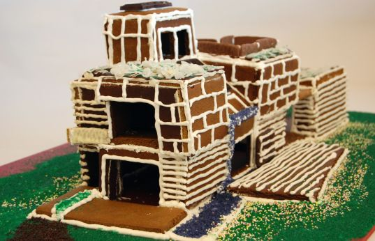 holiday gingerbread house, gingerbread house poll, modern gingerbread house, holiday cooking, green gingerbread house, sustainable gingerbread house, eco-friendly building, green holiday fun, gingersolaire
