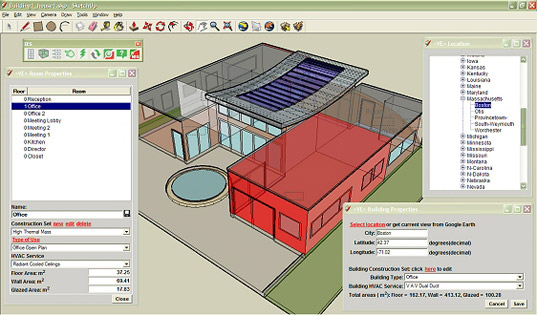 google sketchup, energy modeling plug-in, integrated environmental solutions, ies energy modeling, energy modeling software, free energy modeling plugin