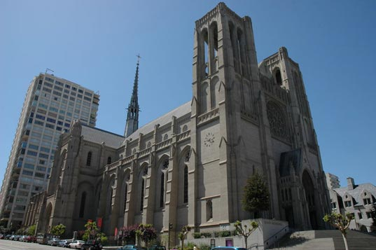 Grace Cathedral San Francisco, Grace Cathedral San Fran, Grace Cathedral solar power, solar power San Francisco, renewable energy San Francisco, green building San Francisco, sustainable building San Francisco, sustainable religious centers, solar powered religious centers, grace2.jpg