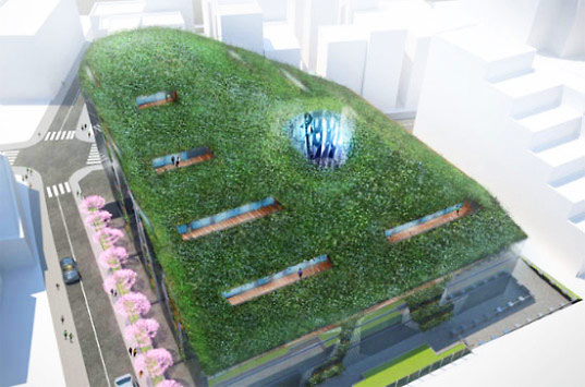 sustainable architecture, green building, green design, graft architects, ao project, sustainable condominium, green roof, energy efficient architecture