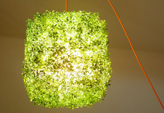 grass on, grass-on, living lamp by ITLab, grass lamp, grass lighting, astroturf lighting, green lighting, faux green, natural textures, Synthetic grass, eco-friendly, Lighting, grass, sustainable interiors, synthetic grass, Venice, ITLab green lighting, eco lighting, recycled material
