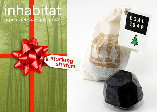 Green Stocking Stuffers, green stocking stuffers, stocking stuffer, green gift guide, green gift, eco gift, green christmas, inhabitat gift guide, coap soap