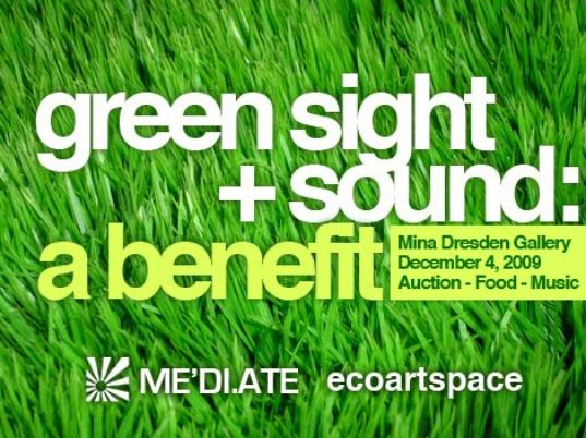 green sight and sound, eco art, san francisco, mina dresden, art, green art