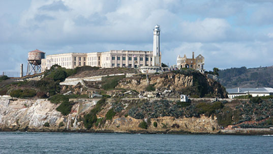 a research on the history of alcatraz in the middle of san francisco bay Alcatraz is an island in the san francisco bay, approximately one third of a mile   of golden gate national recreation area, park archives and records center,  mary m  that they were taking back their land, and unknowingly shaped history.