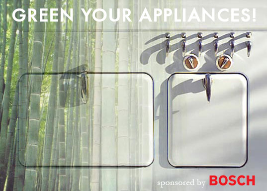 GREEN YOUR APPLIANCES! Summer series starts next week, Inhabitat column on green appliances, energy efficient appliances, energy efficiency in appliance, greener gadgets, save energy at home, efficient appliances, greener appliances, greener gadgets
