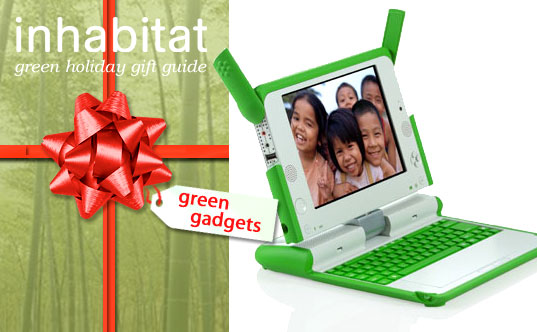 Inhabitat Green Gift Guide, Inhabitat Green Gadget Gift Guide, Green Gadget Gift Guide, Green Gadgets, Green Gift Guide, Greener Gift Guide, Green Holiday Gifts, Eco HOliday Gifts, OLPC, One Laptop Per Child Project
