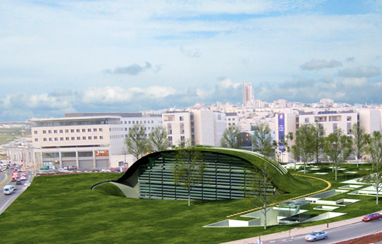 sustainable design, green design, the globe, zvika tamari, team architects, green roof, solar power, sustainable architecture